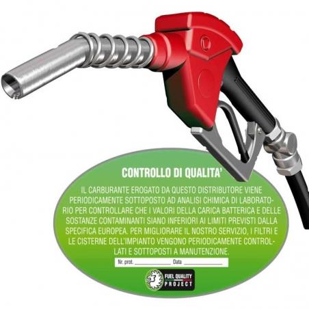 Analisi Carburante   Certificato di Qualità