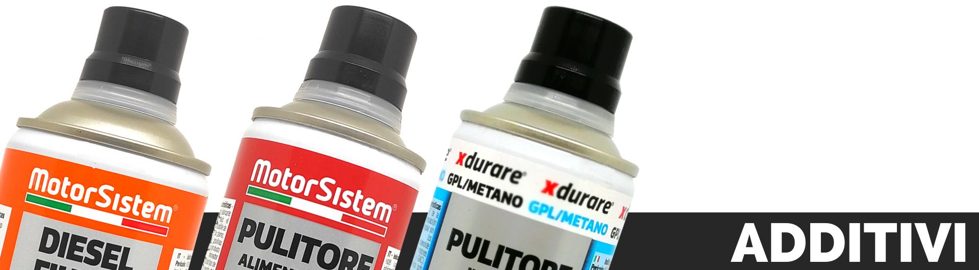 Additivi specifici per il trattamento e del carburante | MotorSistem