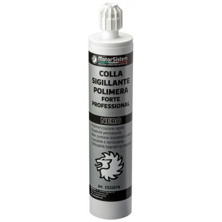 Colla Polimera Nera | Per Metalli Plastica Legno