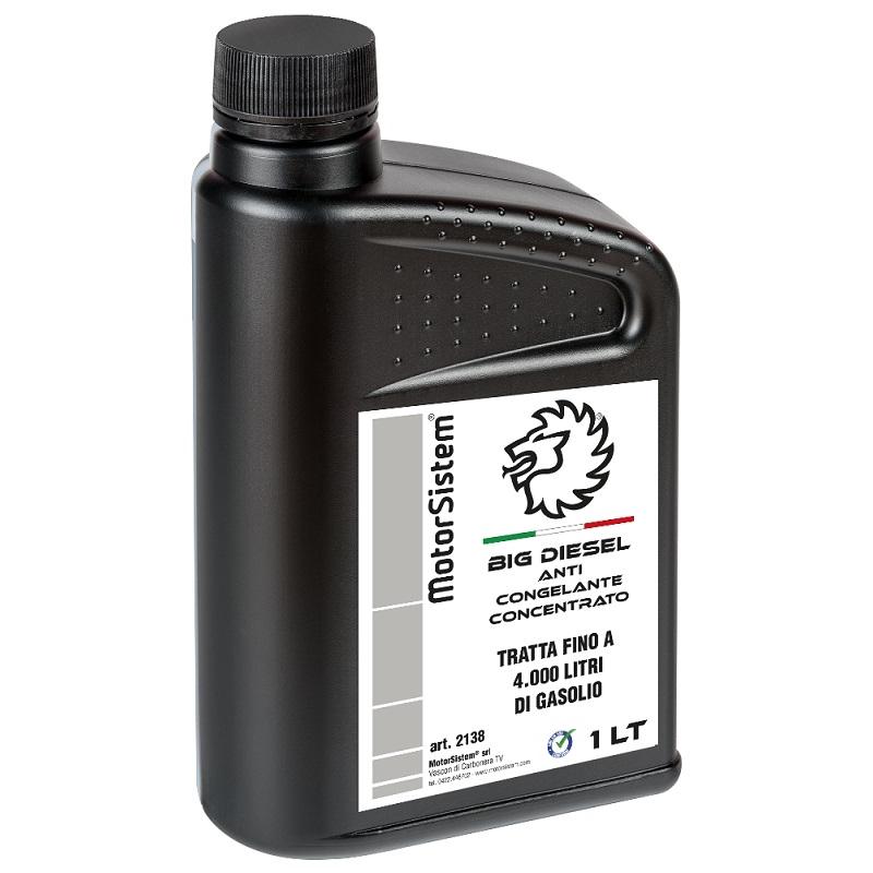 Big diesel anticongelante gasolio