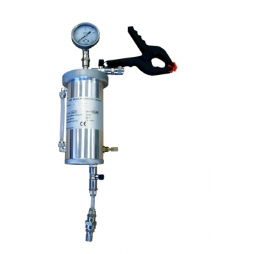 Gas mixer injection cleaner