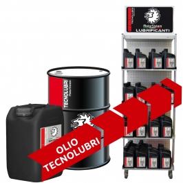 Olio Tecnolubri, 1, 5, 20, 60, 200 Litri