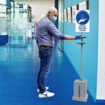 FPG120 FONTANELLA PUNTO GEL AUTOMATIC DISINFECTION NO-TOUCH
