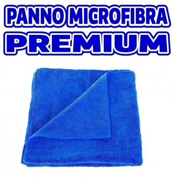 PANNO IN MICROFIBRA BLU PREMIUM