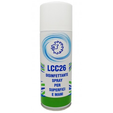 disinfettante spray superfici e mani da 400 ml