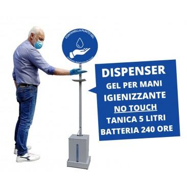 dispenser gel mani no-touch