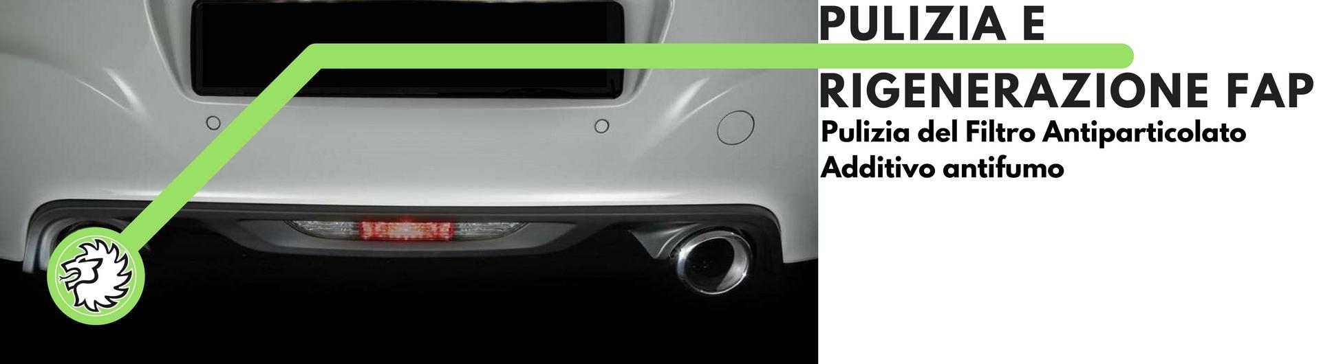 Additivo pulizia filtro antiparticolato FAP antifumo per motori diesel