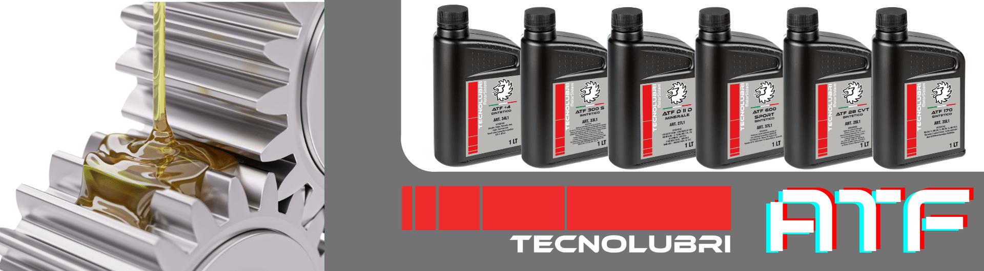 Olio Tecnolubri ATF per trasmissioni automatiche